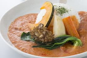 旬の野菜カレー